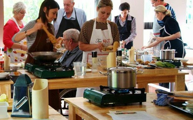 How To Cooking Classes for the Masses