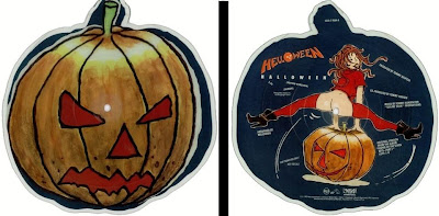Helloween Halloween vinyl picture record disc