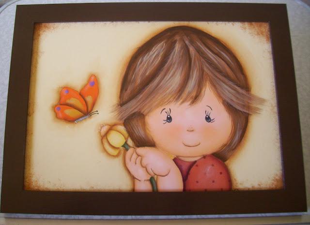 As minhas artes com madeiras - 02-08-2012 Menina