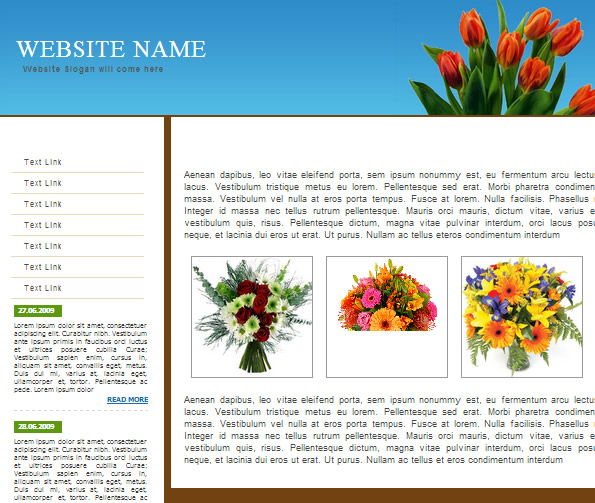 Ecommerce Site Name : Flowers Shop