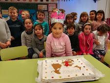 Na Daniela ja té 6 anys!!