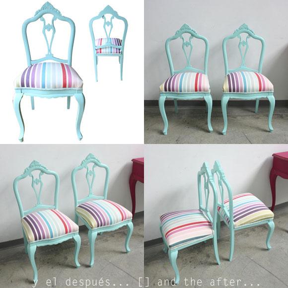 Vintage chic blog decoraci n vintage diy ideas para - Restaurar sillas antiguas ...