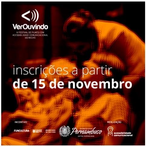 VerOuvindo - Festival de Filmes com Acessibilidade Comunicacional do Recife
