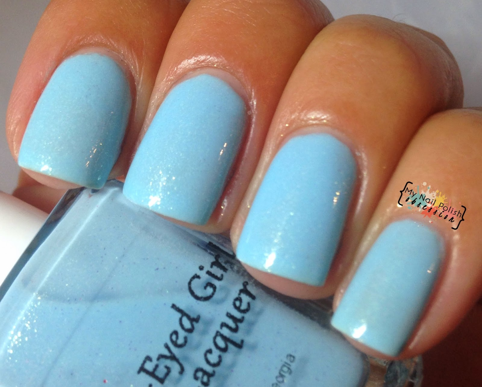 Blue Eyed Girl Lacquer Sewing Shadows