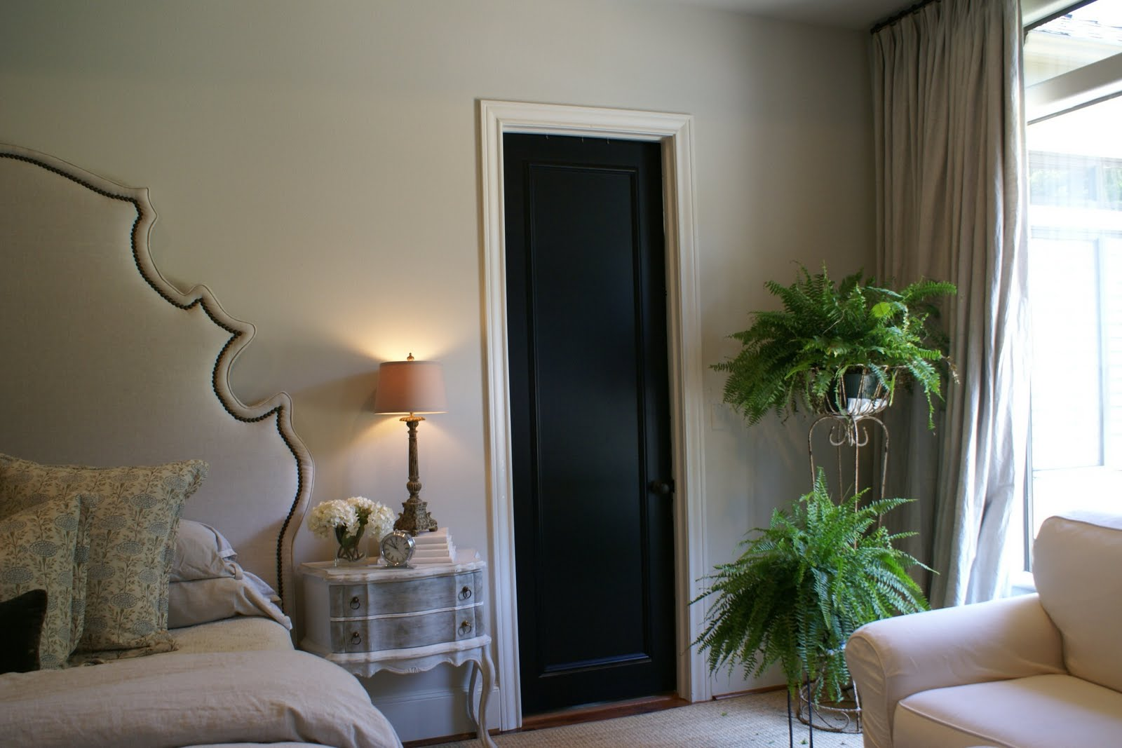 design district design crush black interior doors. Black Bedroom Furniture Sets. Home Design Ideas