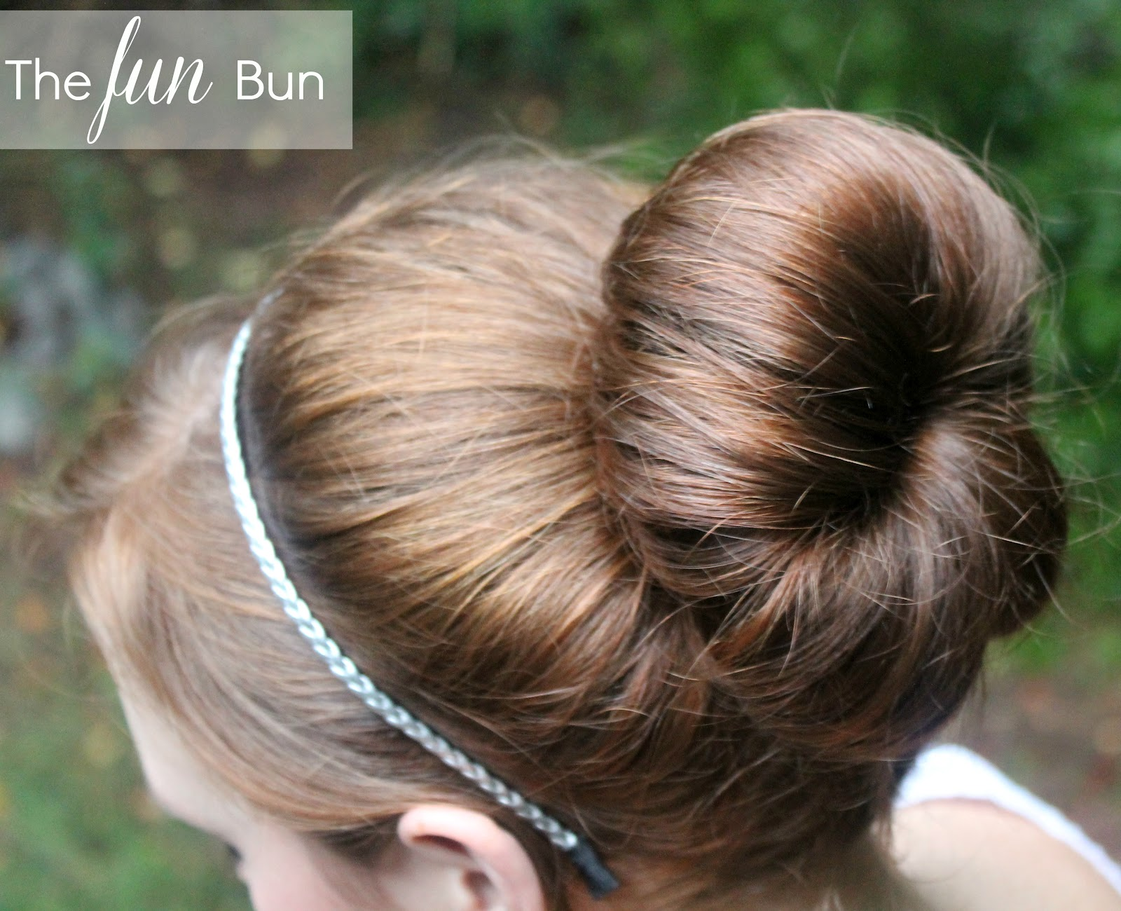 Throw Your Hair Into a Fun Bun: A Tutorial