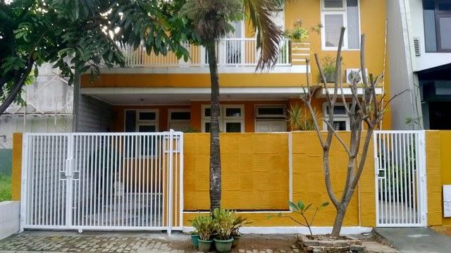 warna cat pagar rumah yang bagus