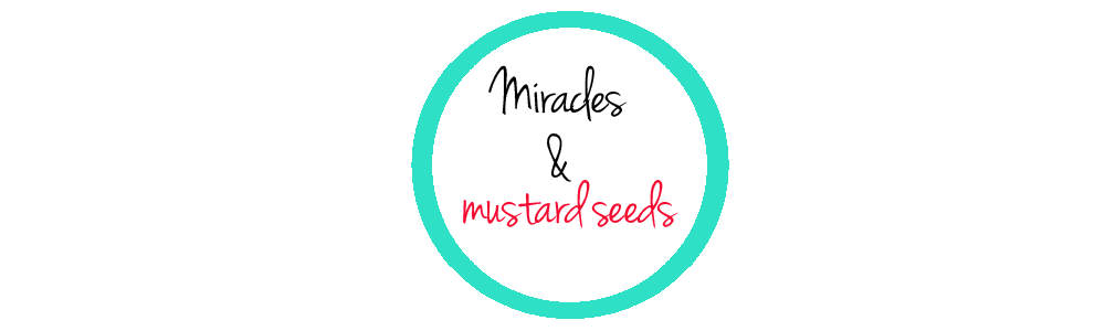 Miracles and mustard seeds