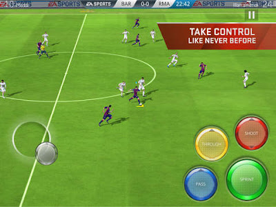 FIFA 16 Ultimate Team Apk + Data for Android Free Download
