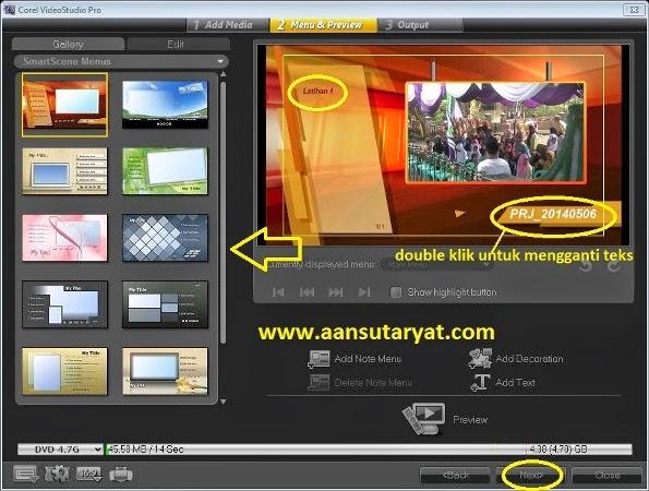 Burning DVD Video Dengan Corel Video Studio Pro X6