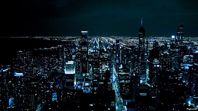 Chicago Night Hd Desktop