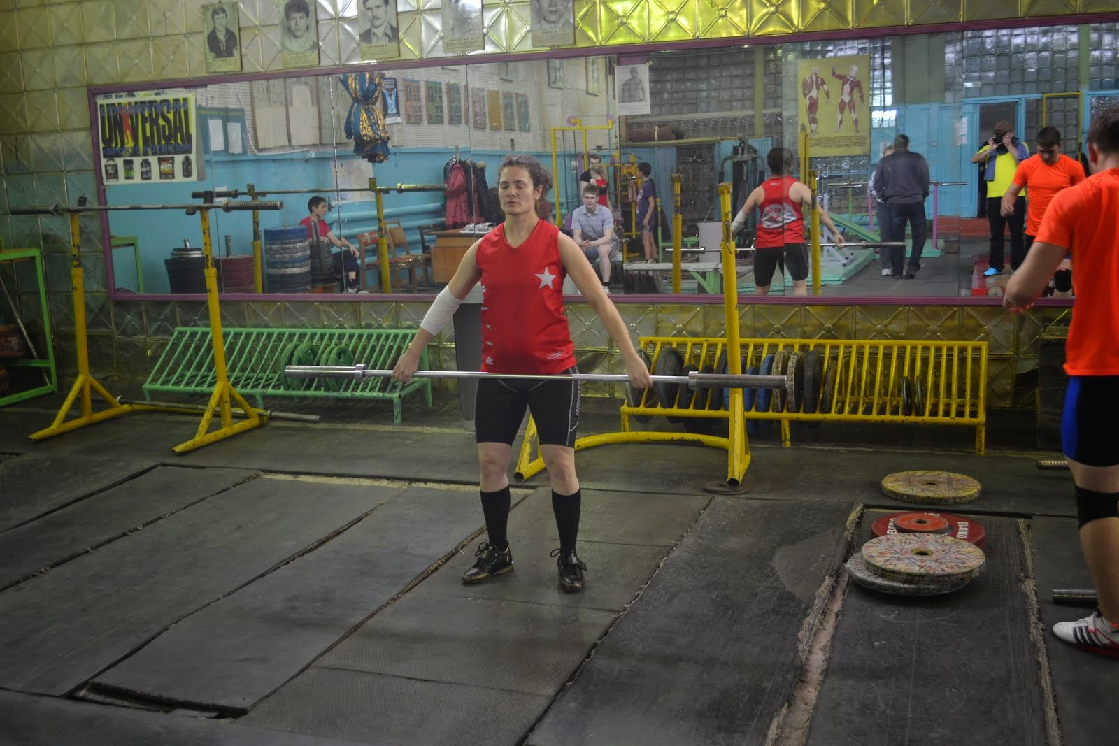 Lifting in Kazakhstan, Temirtau, Ilyin's former gym