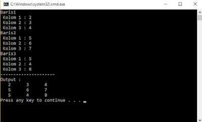 Array Pada C++ Beserta Contoh Programnya 1