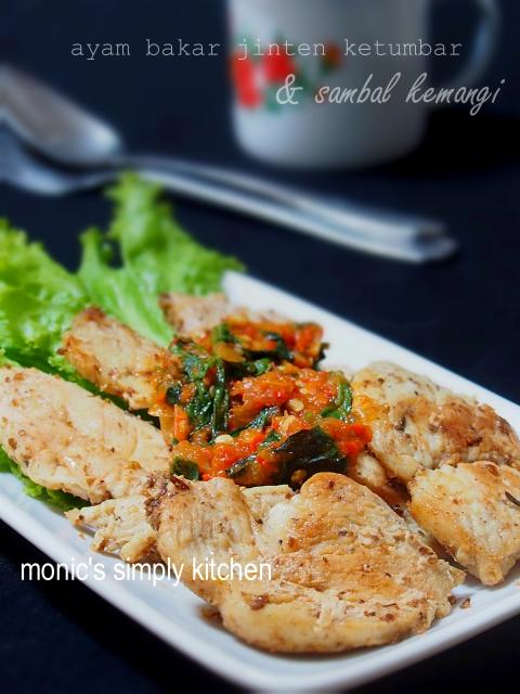 diet rendah garam ayam bakar