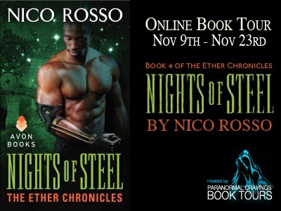 Nights of Steel blog tour