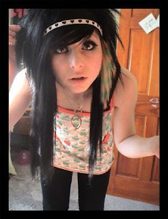 Emo Haircuts Styles For Girls | Modern Emo Hairstyles Girls 2014