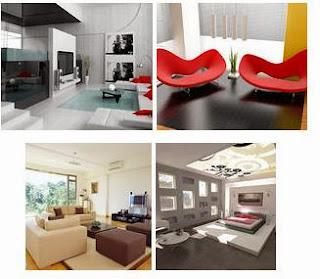 Amateur and Professional interior design