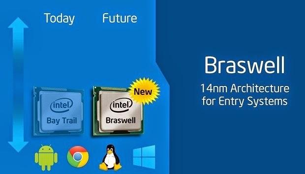 Mengenal Processor Intel Braswell 14 nm