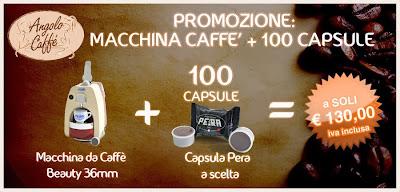 promozione macchina caffè