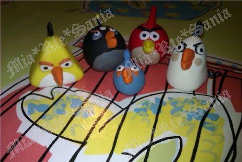 Angry Birds pisapapeles...coleccionalos!!