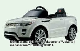 Mobil Mainan Aki Junior 81400 Range Rover Evoque Triple XL