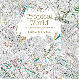 tropical world a coloring book review