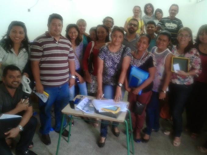 Tablet na escola Teixeira Gueiros