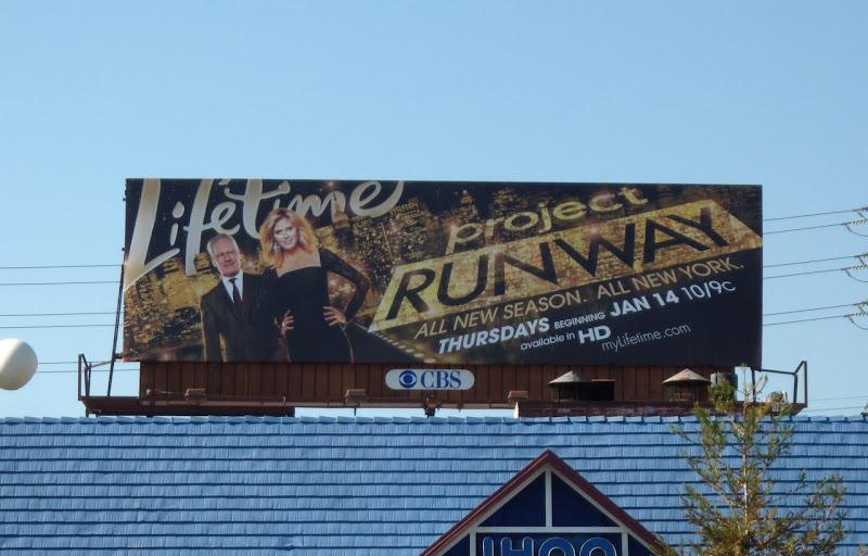 Project Runway season 7 billboard