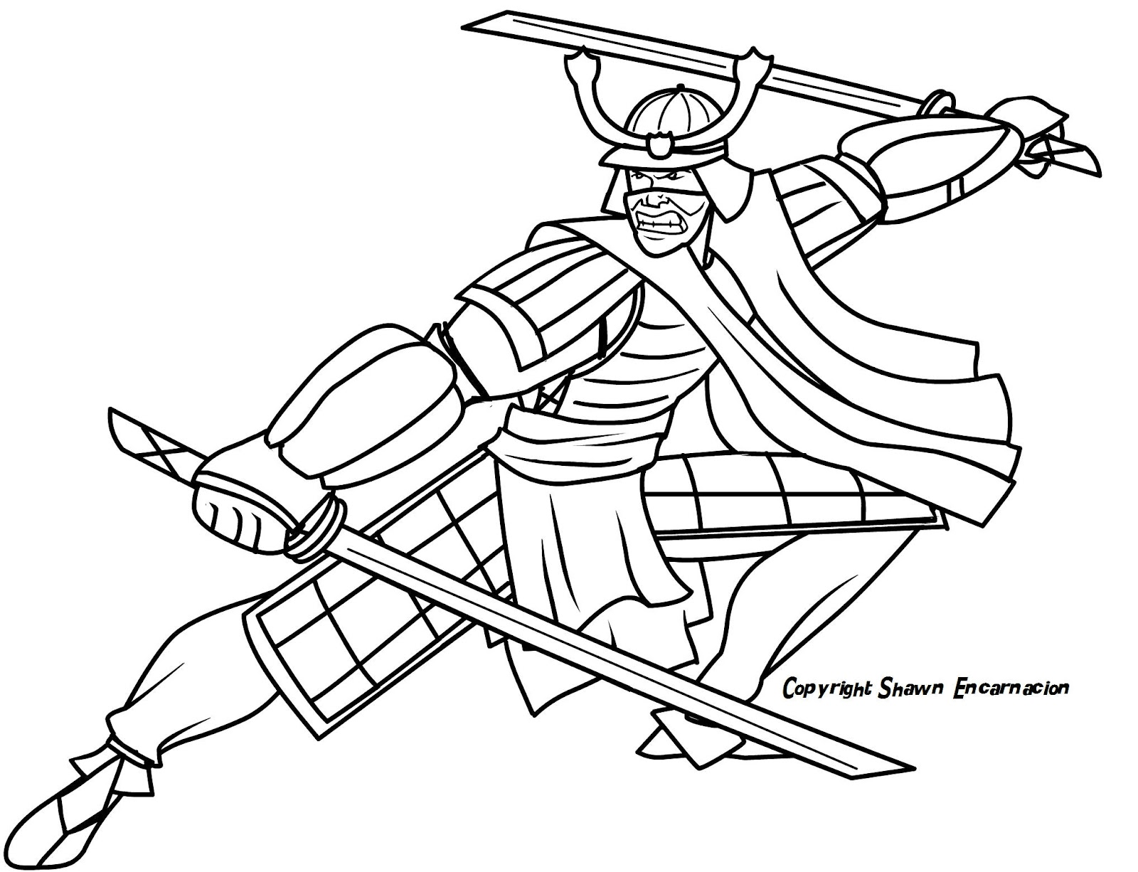 Free Coloring Pages Of Samurai Skull Samurai Coloring Pages
