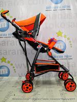 Kereta Bayi Pliko PK108 Adventure-2 Buggy Orange