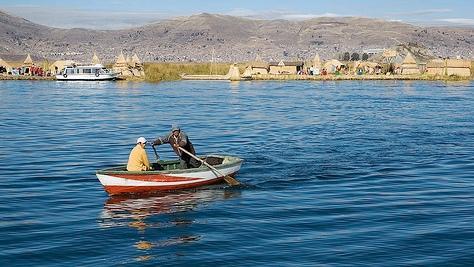 Lago Titicaca de día