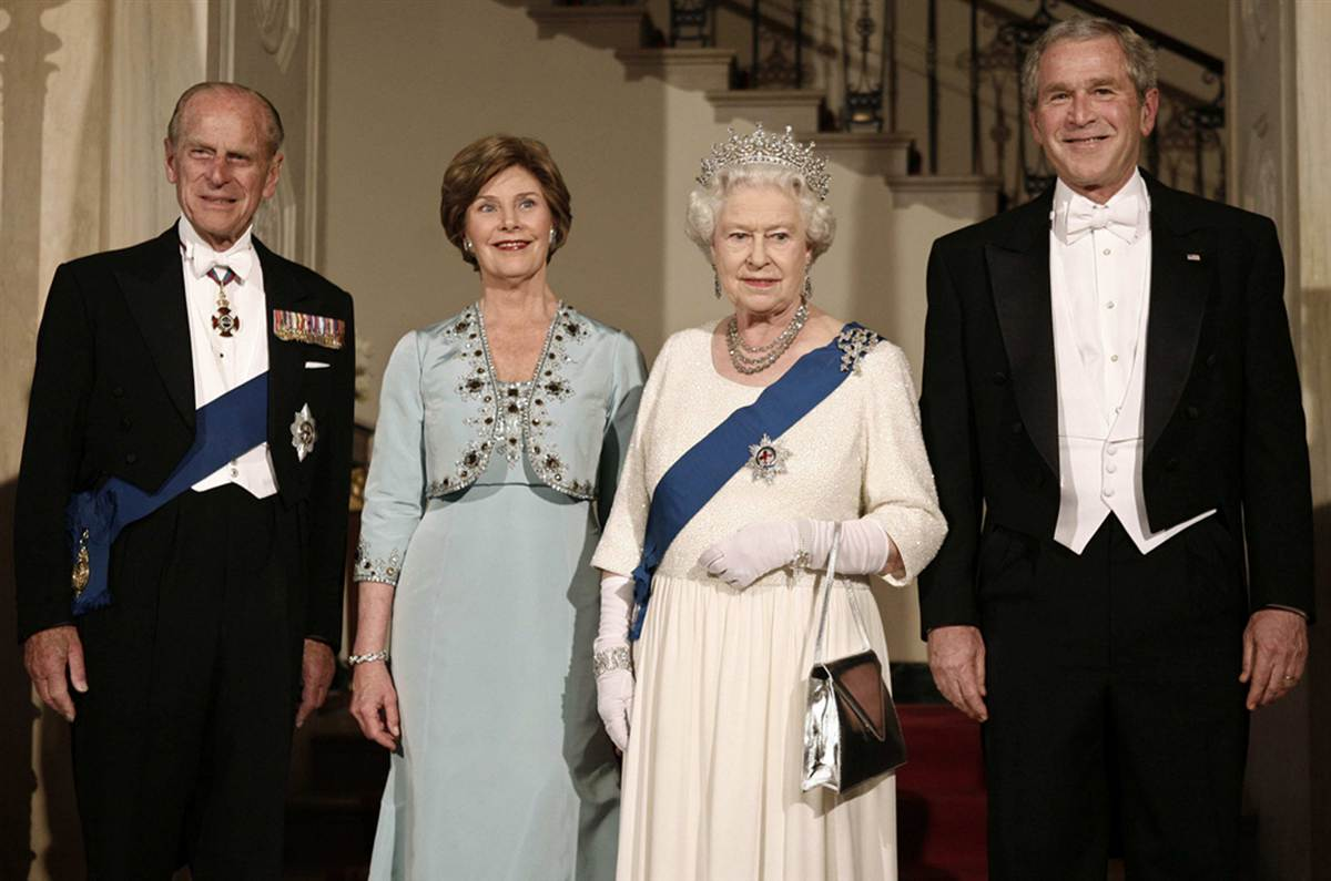 Edward S Photos Of The Day Elizabeth Ii 60 Years Of American Presidents