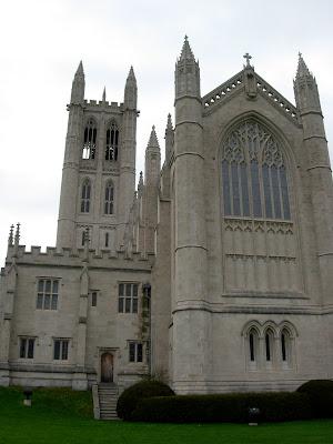 Trinity College Chapel East Elevation