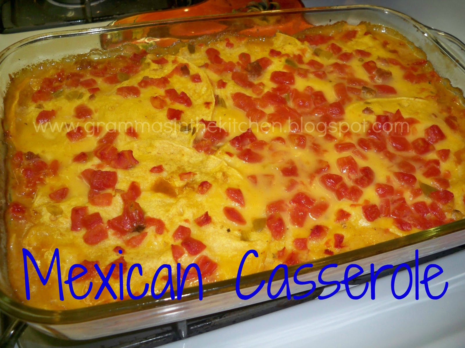 Mexican Casserole Recipe — Dishmaps