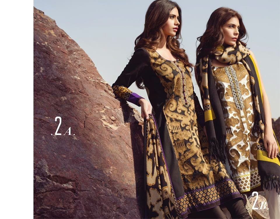 Fall Winter Shawl Dresses 2014