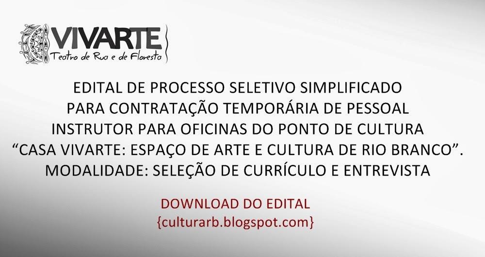 Edital Vivarte