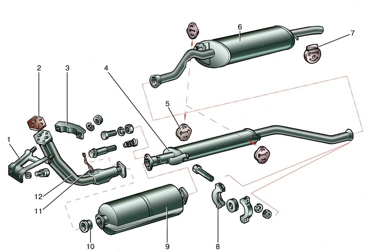 схема катализатора промывка