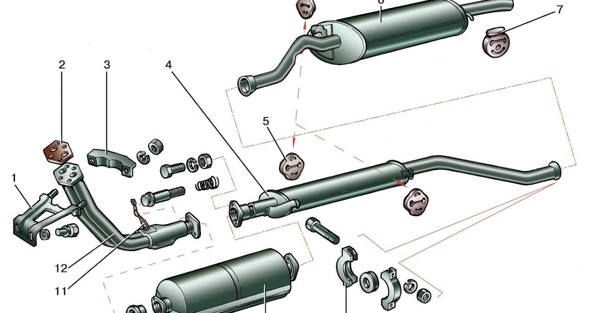 прокладка приемной трубы марк 2