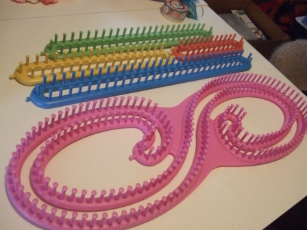 Crochet Loom : knitting loom-Knitting Gallery