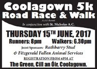 5k nr Fermoy, Co.Cork... 15th June 2017