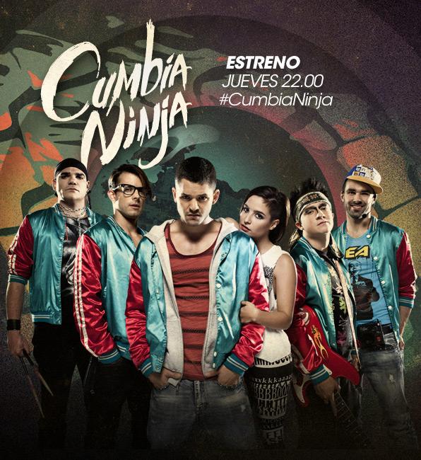 Poster de la serie telenovela colombiana Cumbia Ninja 2013 | Ximinia