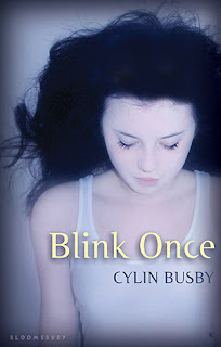 Review of Blink Once by Cylin Busby published by Bloomsbury