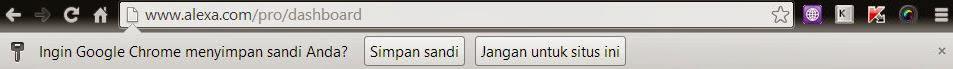 Mengetahui Password Tersimpan Google Chrome Gupitan