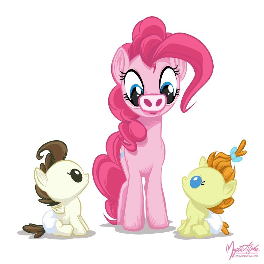Pinkie Pie Baby Cakes