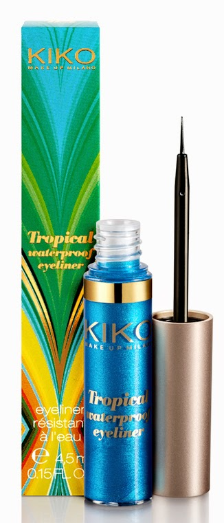 Eyeliner Kiko tropical
