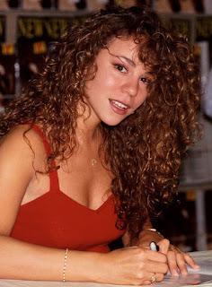 Mariah carey curly