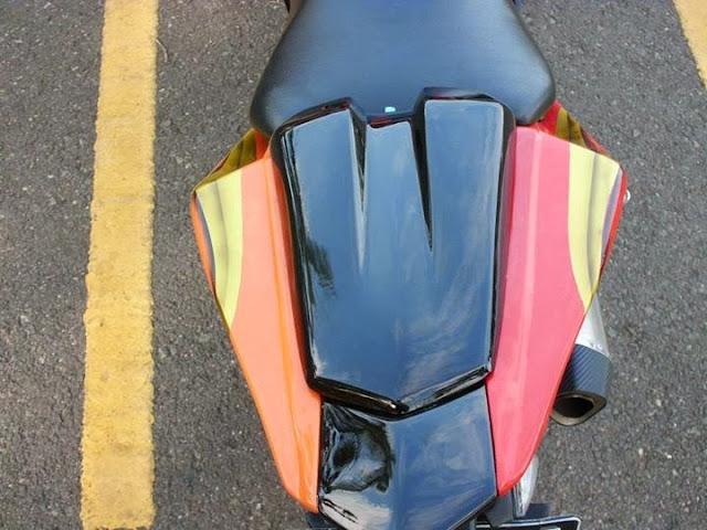 Modifikasi Yamah Vixion Sporty Model R125