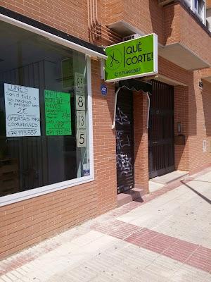 Peluquería Qué Corte! por www.saratorregrosa.com