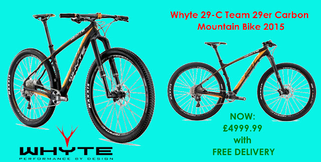 2015 Mountain Bike: Whyte 29-C Team 29er Carbon