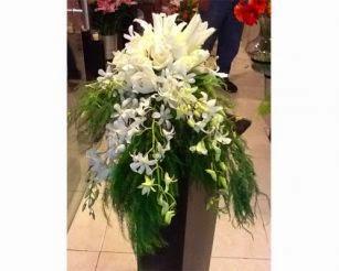 Arreglos Florales con Pedestal, parte 6